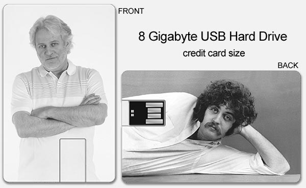 USB 8Gb Drive - Multi Album USB